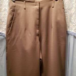 EDDIE BAUER WOOL SLIM TROUSER SZ 8 TALL